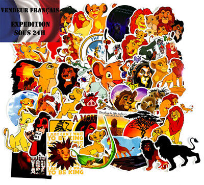 LION KING Lot autocollants stickers LE ROI LION