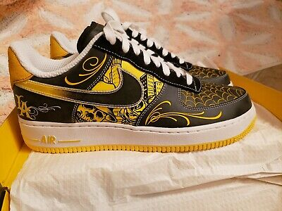 DS NIKE AIR Force 1 Low Supreme Livestrong Size 10.5 100