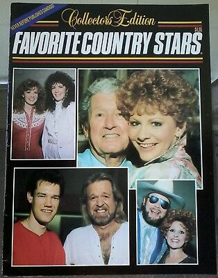 Favorite Country Stars~ Collectors Edition 1989~ Johnny Cash, Dolly Parton