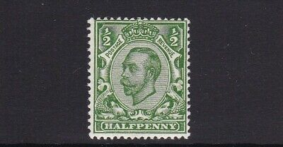 GB 1912 SG339 GEORGE V DOWNEY 1/2d GREEN IMPERIAL CROWN MNH UNMOUNTED MINT