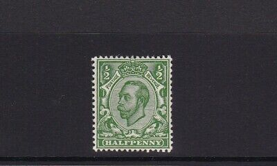 GB 1912 ROYAL CYPHER SG344 GEORGE V 1/2d GREEN MNH UNMOUNTED MINT