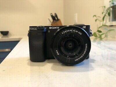 Sony Alpha A6300 with 16-50mm f/3.5-5.6 Lens Kit plus extra battery