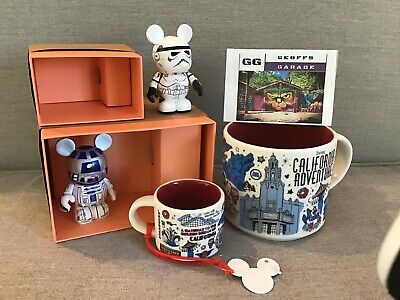 DCA Disney California Adventure Starbucks Been There Mug  & Ornament Set + BONUS