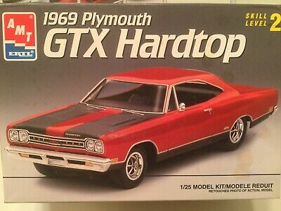 AMT ERTL 1969 Plymouth GTX Hardtop  #6111 1:25 Scale, Used