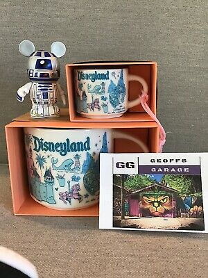 Disneyland Main Street Starbucks Been There Mug and Ornament Set + BONUSES