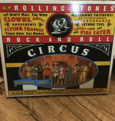 Rock and Roll Circus by the Rolling Stones CD Deluxe Packaging