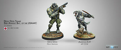 Infinity Ariadna Devil Dogs 2nd Assault regiment of the USAMC  COR280176