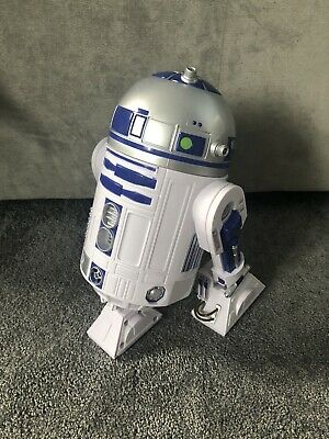 disney store official star wars interactive R2-D2 figures .moves and talks