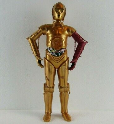 Star Wars Hasbro 2015 The Force Awakens C3PO Droid 11 Inches figure red arm