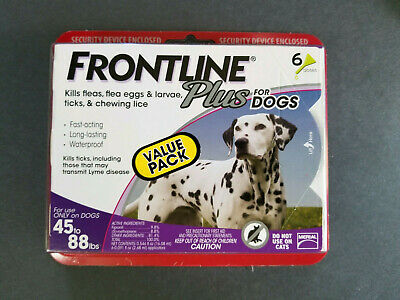 Merial Frontline Plus Flea & Tick Control for 45 to 88-Pound Dogs - 6 Months