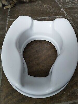 Patterson Medical Savanah Raised Toilet Seat without Lid Strong Durable easy fit