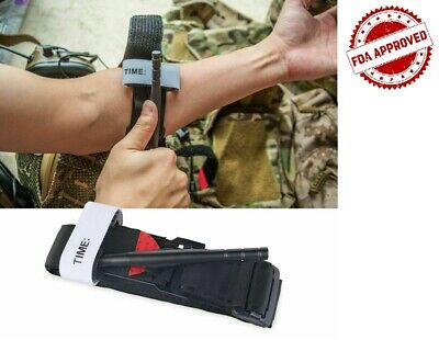 Tourniquet Rapid One Hand Application Emergency or Outdoor First Aid Kit UK