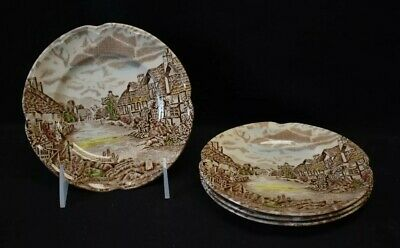 Johnson Brothers Olde English Countryside  ~ 4 Bread Plates ~ 6.25""