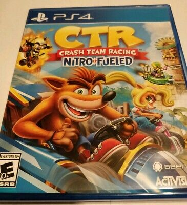 Crash Team Racing Nitro-Fueled (PlayStation 4) PS4 GREAT CONDITION FAST SHIPPING