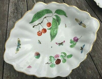 Derby Crash & Burn Sale - Late 18th Century Large Scalloped Serving Dish