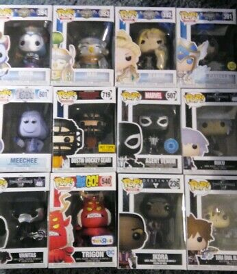 Funko Pop! LOT Of 21 Pops. NEW Some Exclusive and Vaulted $186 Value. Look!