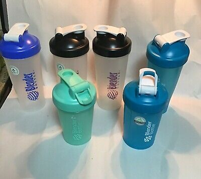 Lot of 6 Blender Bottles