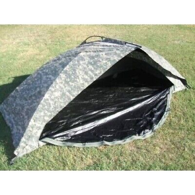 ORC Improved Combat Shelter (ICS) One Man Tent, ACU, USED U.S. Military issued
