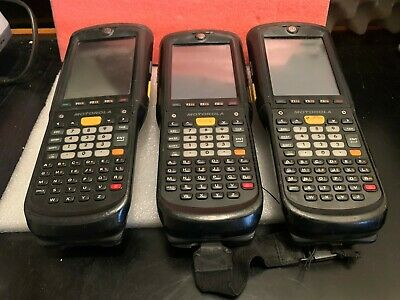 LOT OF 3 Symbol Motorola MC9596-KDAEAB00100 2D Barcode Scanner GPS GSM (4)