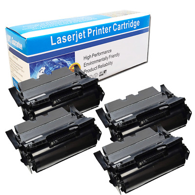 TCT Premium Compatible Toner Cartridge Replacement for Lexmark E260 E260A21A Black Works with Lexmark E360 E460 Printers 3,500 Pages 4 Pack