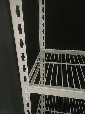 Coolroom Antimicrobial Powder Coated Shelving with Wire Shelves Extra Tier 525W