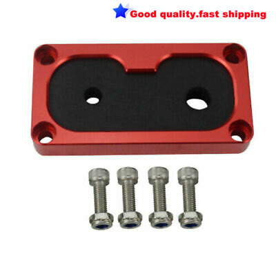 Aluminum Billet Shifter Cable Grommet For Civic Integra W/ K-Series Swap Red