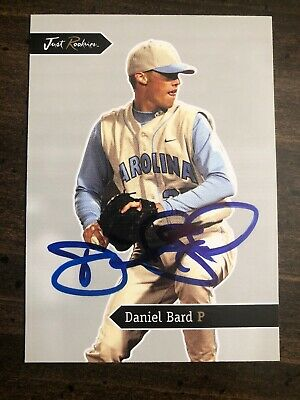 2006 Just Minors Rookies Daniel Bard #1 RC Auto Signed Autograph Red Sox