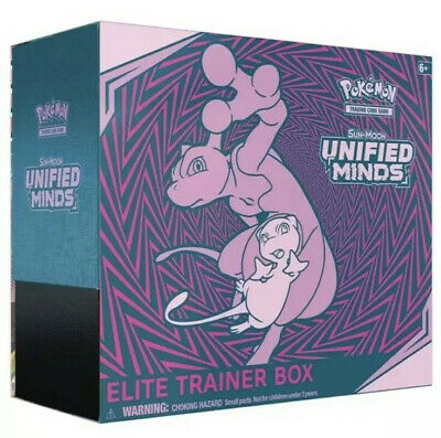 Pokemon TCG: Sun & Moon Unified Minds Elite Trainer Box New Sealed