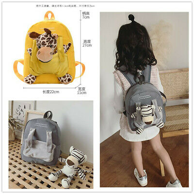 Kids Fashion Cute Backpack for Toddler Boys girls Travel Kindergarten(with Toy)