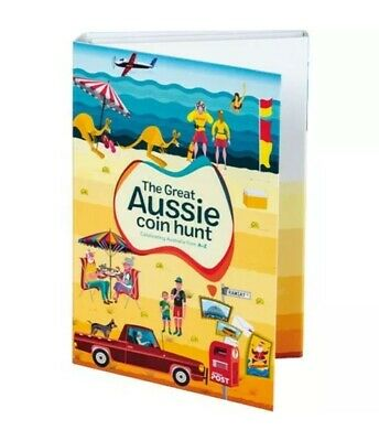 The Great Aussie Coin Hunt A-Z Folder & 26 $1 Coins Full Set AVAILABLE Buy NOW
