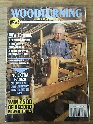 Woodturning Magazine The Woodturner Issue No 2 - Winter 1991