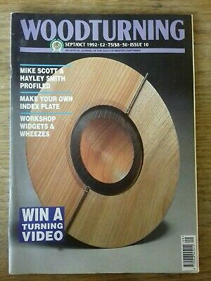 Woodturning Magazine The Woodturner Issue No 10 - September / October 1992