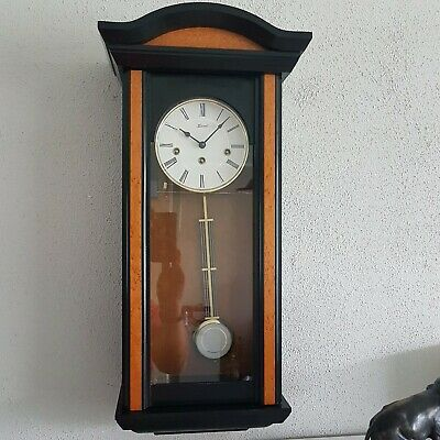 0270- German Hermle Westminster chime  wall clock
