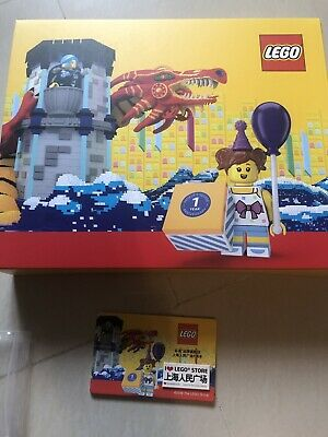 Lego China Exclusive Shanghai Castle Box Set + I Love Store Printed Tile limited