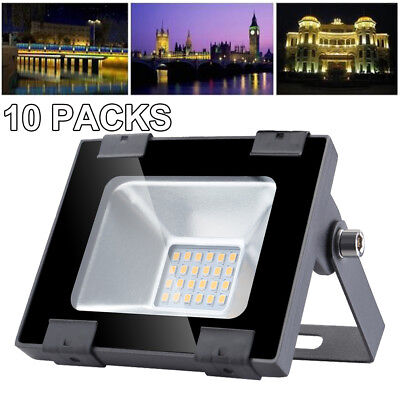 100W LED Floodlight LEMBRD Cool White Outdoor Garden Lighting Security Lights