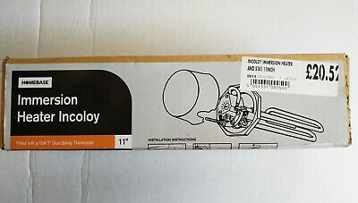 """Tesla TIH540 Incoloy 11"""" Immersion Heater Heating Element"""