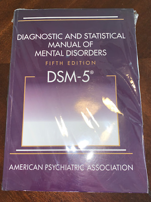 Diagnostic & Statistical Manual of Mental Disorders 5th Ed. DSM-5 ACTUAL BOOK!