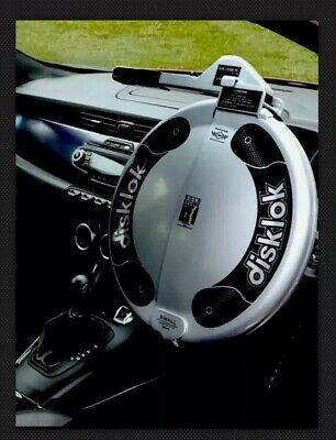 Brand New DISKLOK STEERING WHEEL SECURITY SMALL SILVER 35 - 38.9 cm..... Bargain