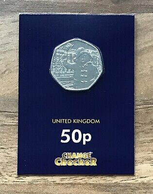 PADDINGTON AT THE PALACE 2018 COMMEMORATIVE 50p COIN CHANGE CHECKER SEALED PACK