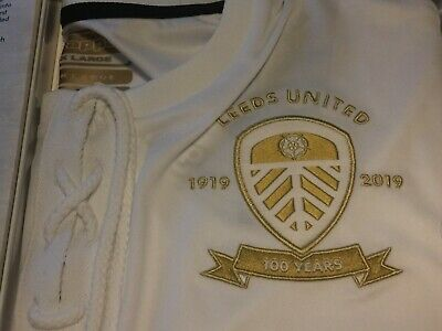 LEEDS UNITED Centenary Shirt & History Book 1919-2019 Ltd Ed No.0497 SOLD OUT!!