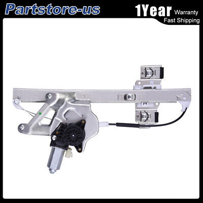 Front Left Driver Side Power Window Regulator with Motor Assembly for Buick LeSabre 2000-2005