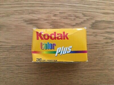New Kodak Colour Plus Photography Film, ISO 200, 36 Exp., Expiry 2008