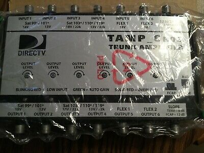 New TAMP 6R03 Trunk amplifier Direct TV / satellite