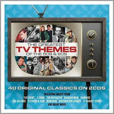 Greatest TV Themes of the '50s & '60s (2-CD) Import