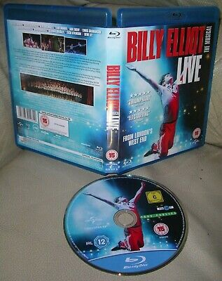 BILLY ELLIOT THE MUSICAL LIVE BLU-RAY 2014 London Victoria Palace Theatre!!