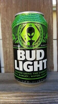 Bud Light Area 51 Green Alien Can BRAND Very Limited Collectors Item EMPTY CAN