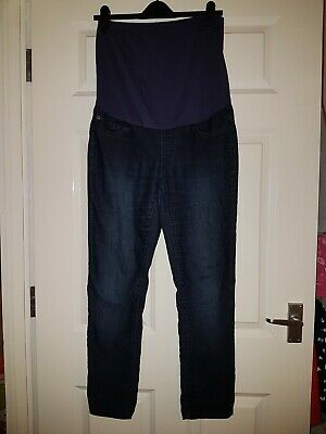 Seraphine Maternity Over The Bump Navy Jeans Size 10/12