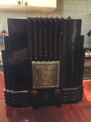 AWA Radiolette EMPIRE STATE Radio Fully working with free book - mantle radio
