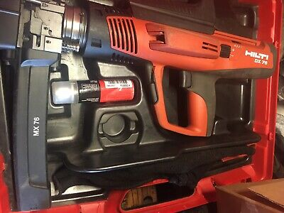 Hilti DX76 PTR Nail Gun With Magazine 76 ss