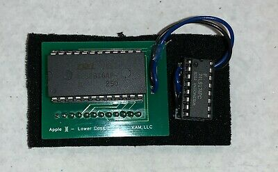 FREE Worldwide Shipping + Lower Case Chip Tested and Working Apple II Plus